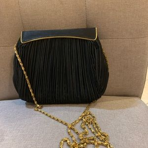 black lord and taylor clutch